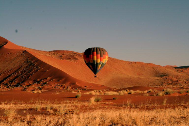 Sossusvlei Heißluftballon