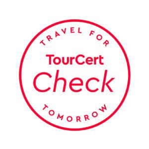 TourCert Check Green Tiger