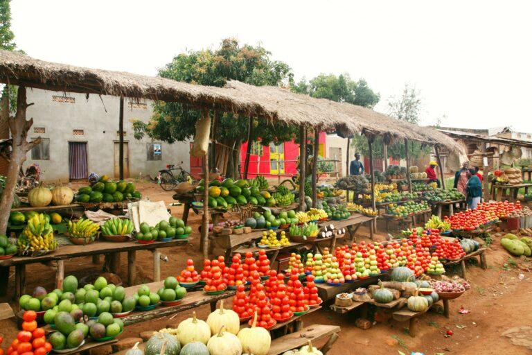 Uganda Strassenmarkt